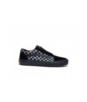 Кеды Vans Old School checkerboard черные