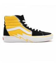 Кеды Vans Sk8-Hi Bolt черные с желтым