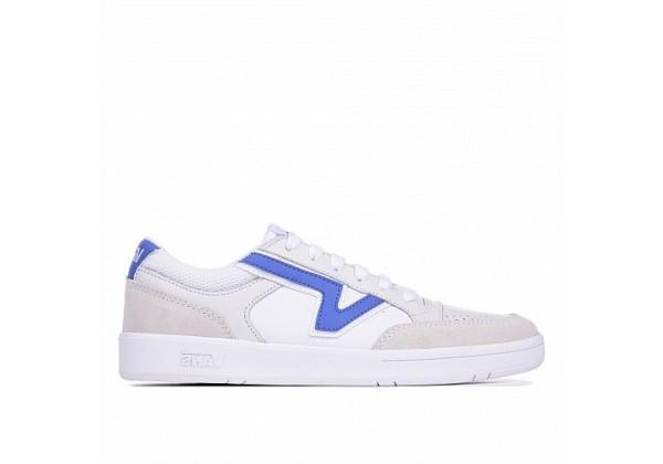 Кеды Vans Lowland белые с синим