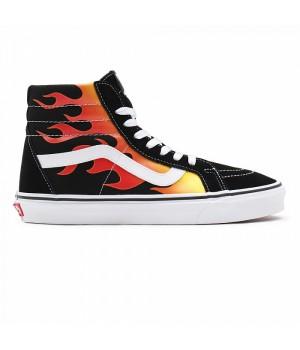 Кеды Vans FLAME SK8-HI черные