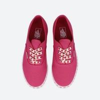 Кеды Vans Authentic с принтом розовые