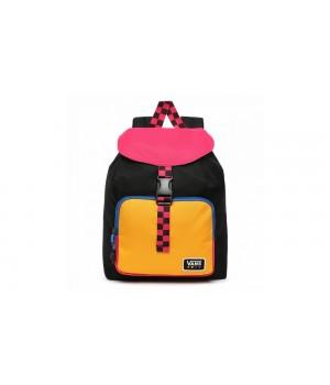 Рюкзак Vans черно-розовый