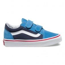 Детские кеды Vans Old Skool V VA38HDMMR синие