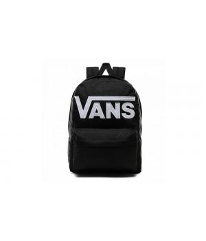 Рюкзак Vans с надписью черный