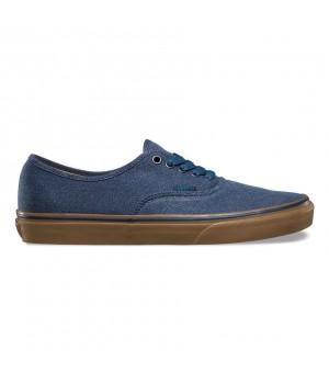 Кеды Vans Authentic Washed Canvas синие