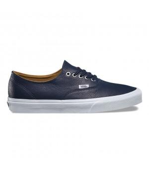 Vans кеды кожаные  Authentic Decon (Premium Leather) Sneakers синие