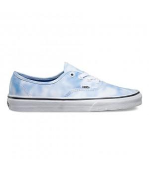 Кеды Vans Authentic Tie Dye голубые