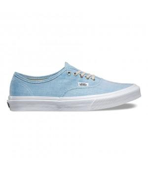 Кеды Vans Authentic Slim голубые