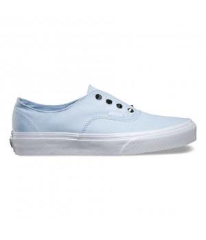 Кеды Vans Authentic Gore Studs голубые