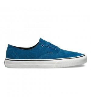 Vans кеды кожаные Authentic Decon (Suede) голубые