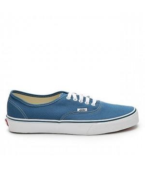 Кеды Vans Authentic синие с белой подошвой