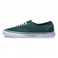 Кеды Vans Authentic зеленые