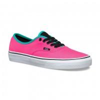 Кеды Vans Authentic (Brite) Neon розовые