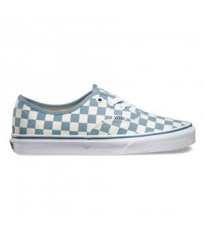 Vans кеды Authentic Checkerboard белые в клетку