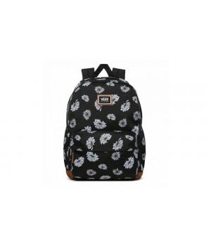 Рюкзак Vans  цветочный черный