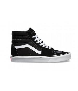 Кеды Vans SK8-HI высокие черно-белые мужские