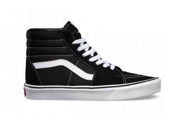 Кеды Vans SK8-HI высокие черно-белые