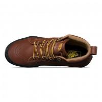 Кожаные кеды Vans UA SK8-HI MTE коричневые