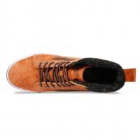 Кожаные кеды Vans SK8-Hi MTE коричневые