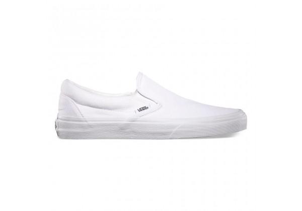 Слипоны Vans Classic Slip-On белые