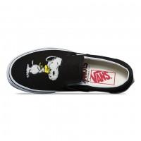Слипоны Vans UA CLASSIC SLIP-ON PEANUTS черные