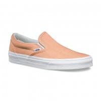 Слипоны Vans Classic Slip-On Chambray оранжевые