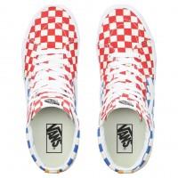 Кеды мужские Vans Sk8-Hi Checkerboard высокие разноцветные