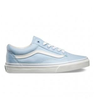 Кеды Vans Old Skool голубые женские